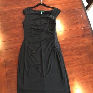 Ralph Lauren Black Cocktail Dress Size 14